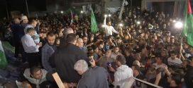 الان وقف إطلاق النار في غزة  واحتفاء سكانها بالنصر بالتكبيرات والخروج للشوارع