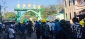 مسلمو ميانمار يشاركون في الحراك الرافض للانقلاب